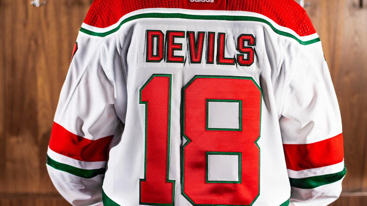 low priced 8c51f 38952 LOOK: The New Jersey Devils are wearing their original red ...