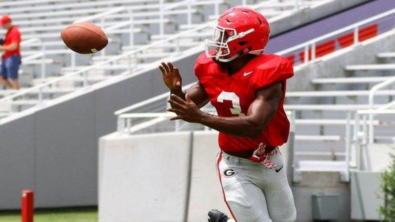 Zamir White's recovery has Kirby Smart fired up