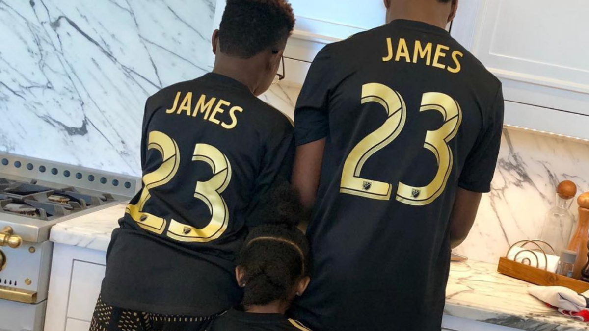the latest 72209 4a1a0 LeBron James apparently hitches his wagon to LAFC as he ...