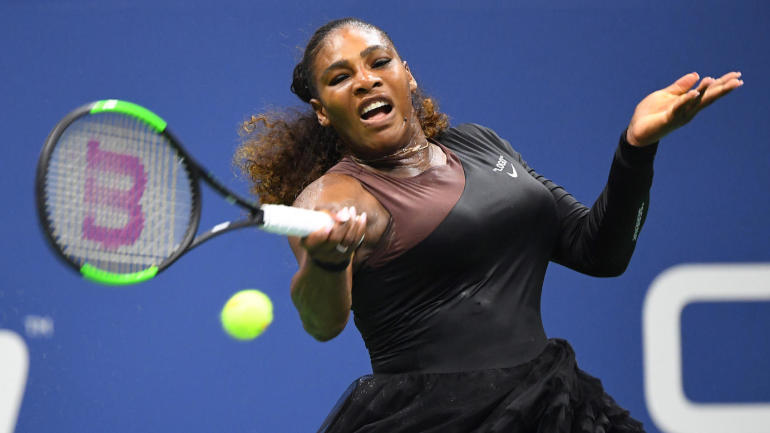 US Open 2018: Serena Williams defeats Magda Linette in opening round of US Open