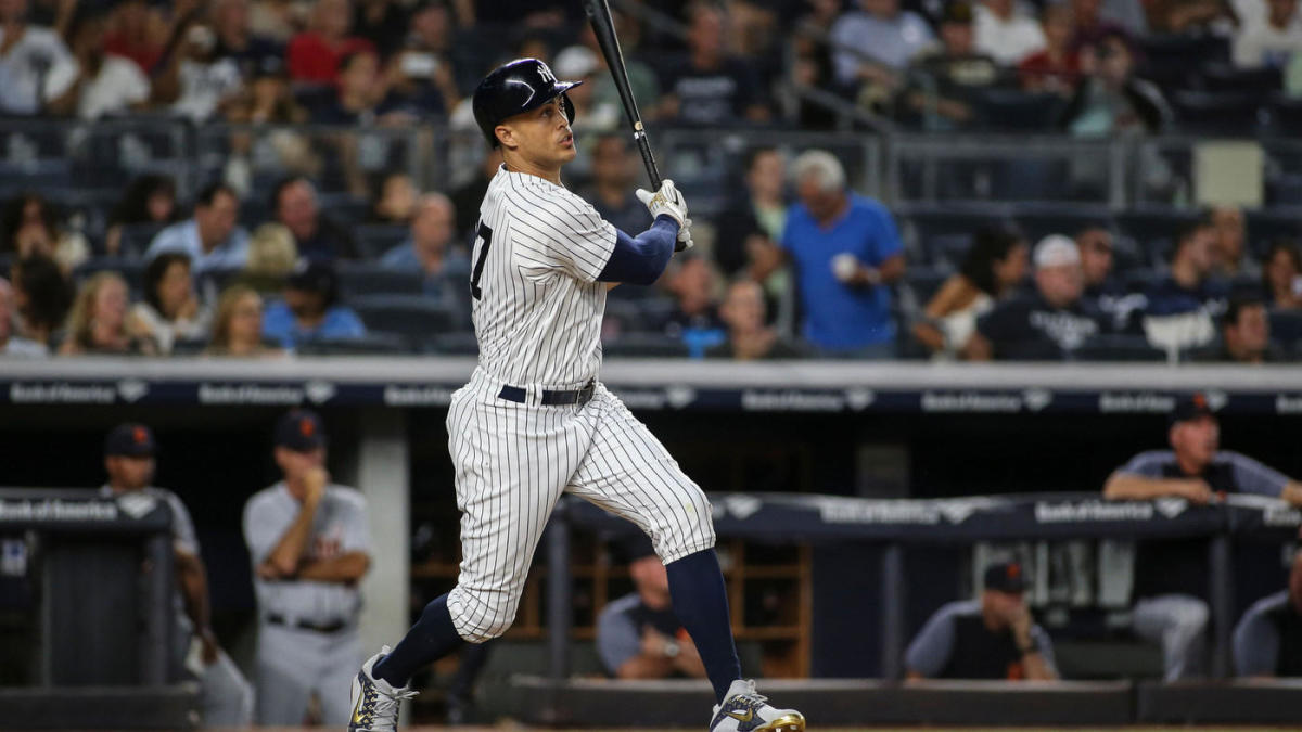 970c51e2db Yankees' Giancarlo Stanton becomes the fifth fastest player to 300 home  runs in MLB history - CBSSports.com