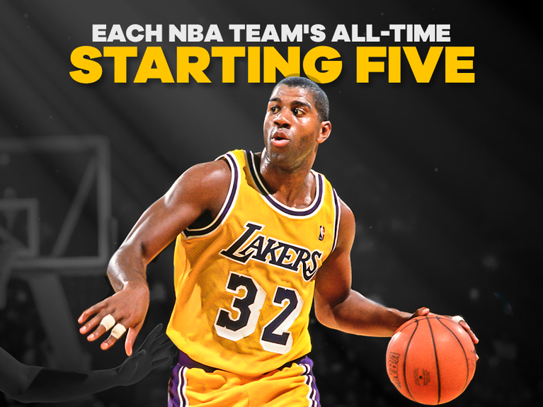 839a38d7 Each NBA team's all-time starting five - CBSSports.com