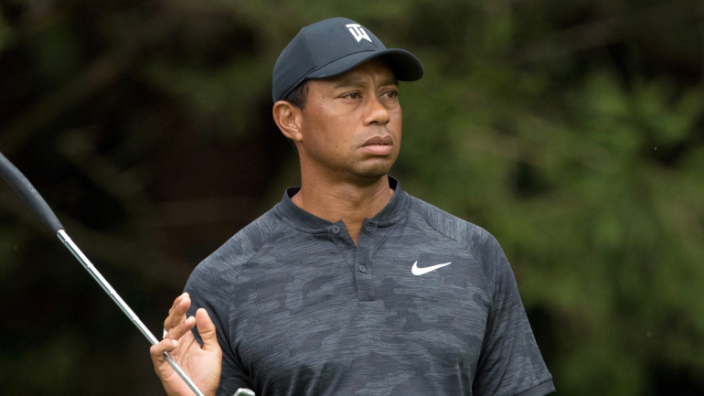 Tiger Woods Score Today