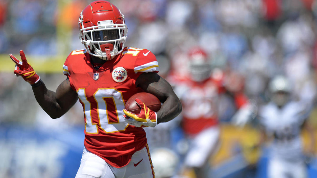 Fantasy Football Rankings 2019: Model that beat experts says top five WRs now include Tyreek Hill