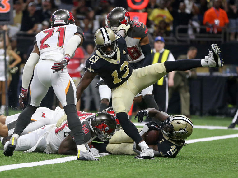 NFL: Tampa Bay Buccaneers at New Orleans Saints