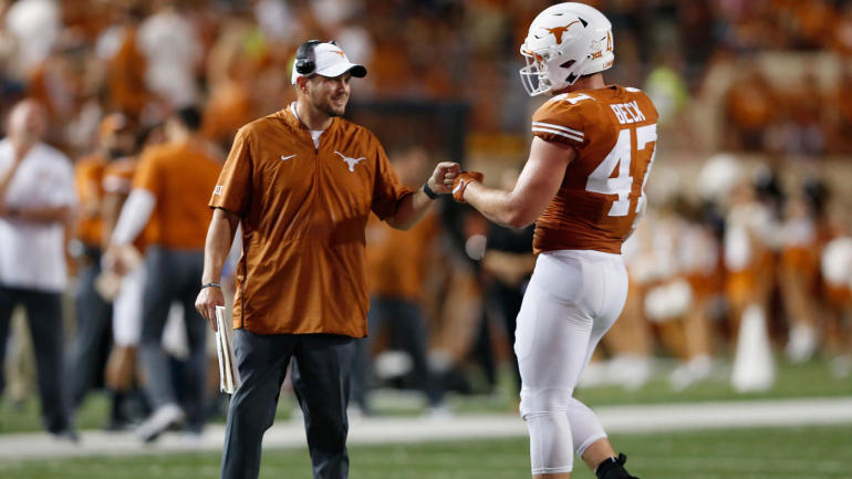 Already Familiar With Pressure Tom Herman Remains Focused On Reviving Texas Football