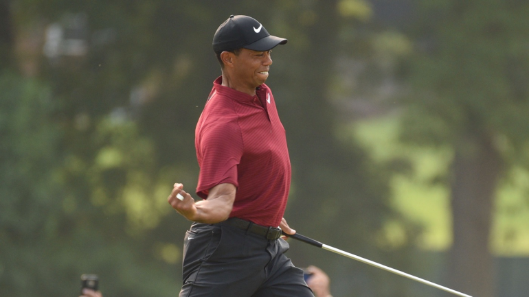 pga tour season awards  tiger woods  incredible