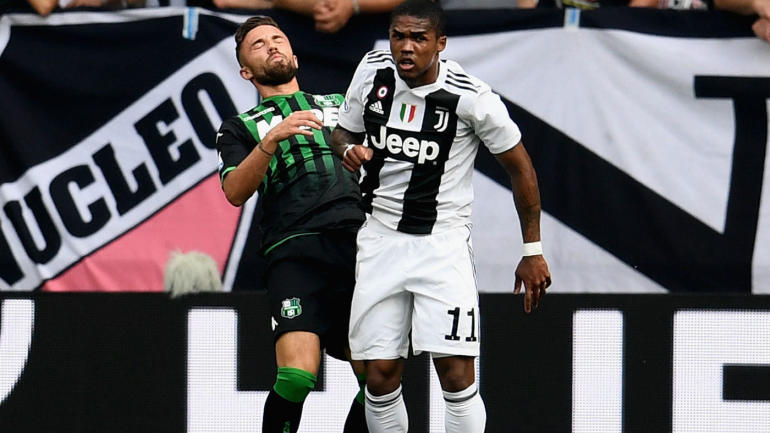 Juventus player faces fine and suspension for elbowing ...
