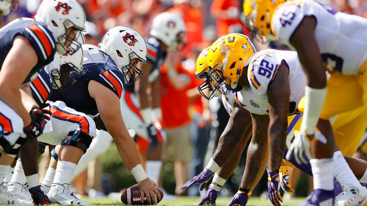College football schedule, kickoff times for Week 9: Auburn at LSU picked for SEC on CBS Game of the Week