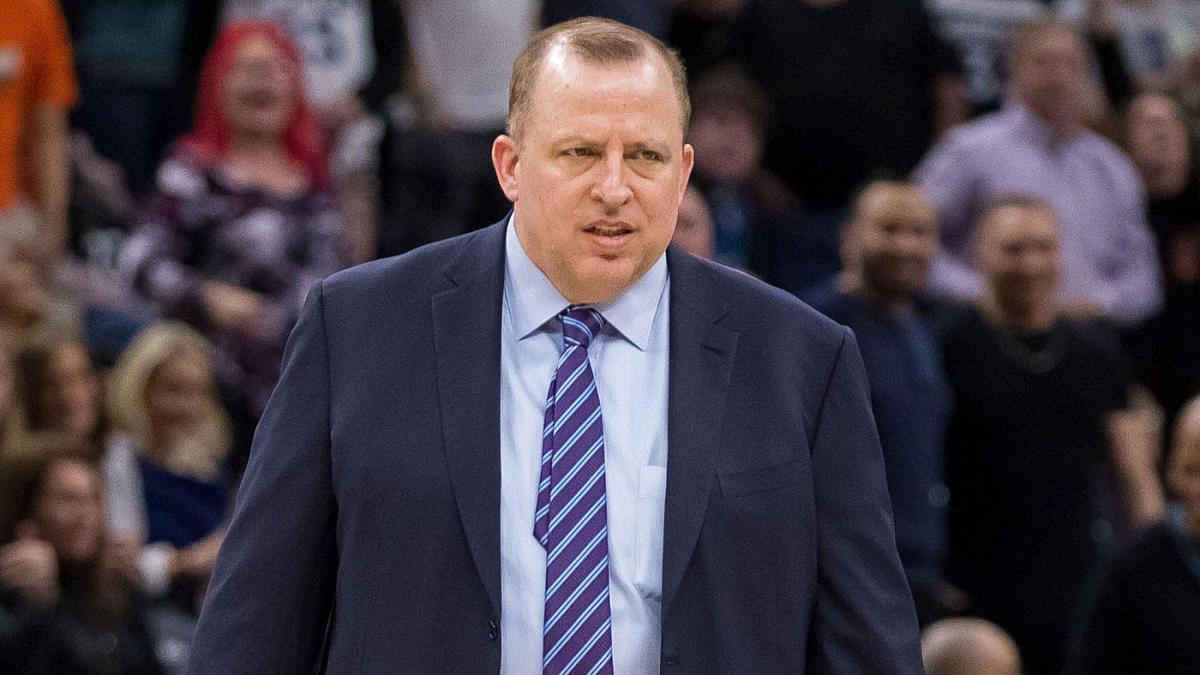 Tom Thibodeau, principale artefice della positiva stagione Knicks