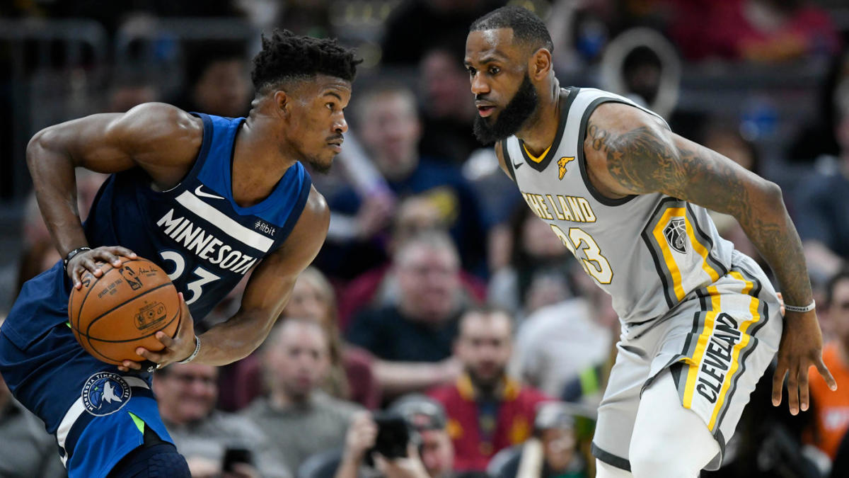 best service 5cd4a 8163d Jimmy Butler trade request: LeBron James' arrival made ...