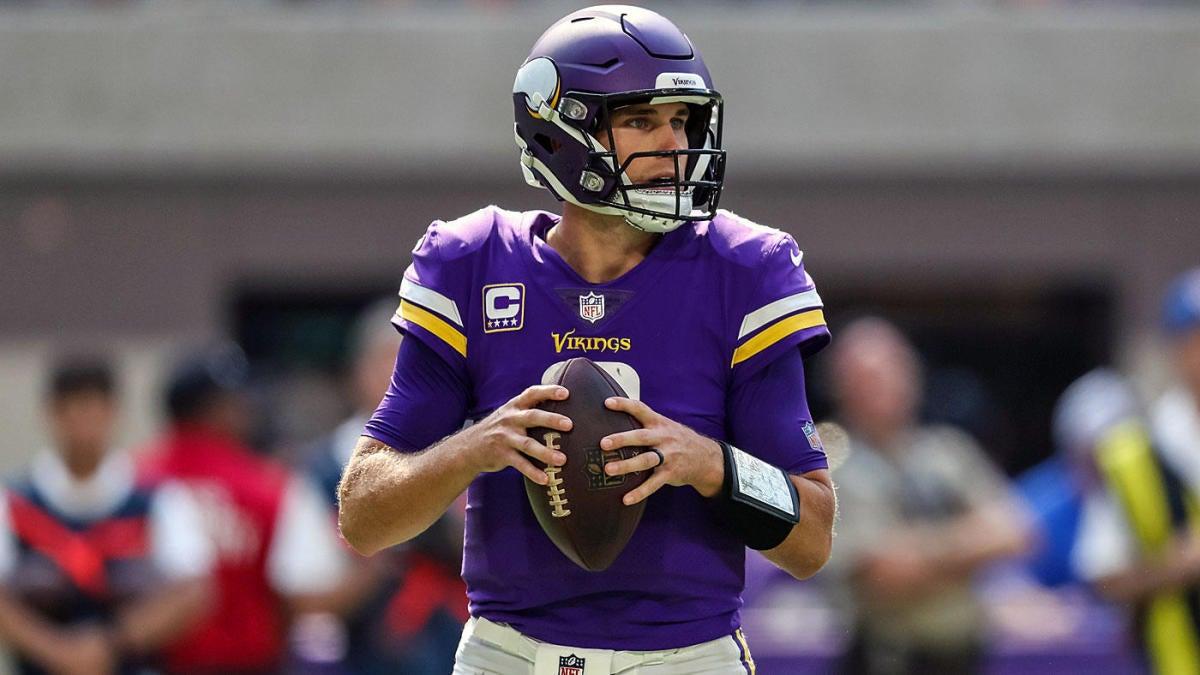 NFL Week 4 early odds: Vikings open as big underdogs, hope