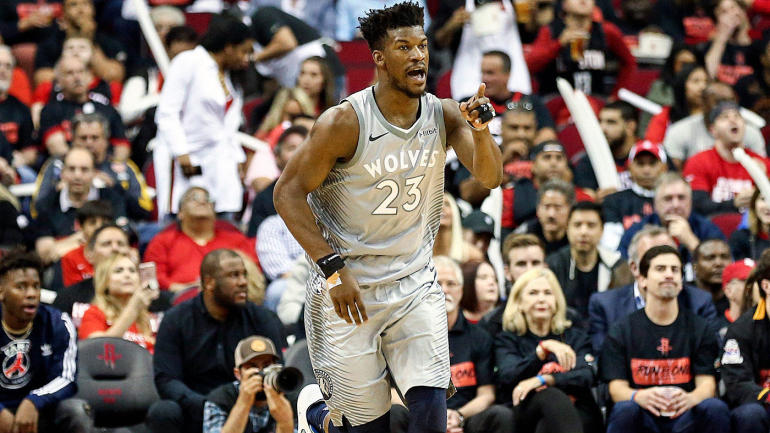 4e51cadb992 Jimmy Butler Trade Grades  76ers establish themselves as elite contender   Wolves add solid pieces to young core - CBSSports.com