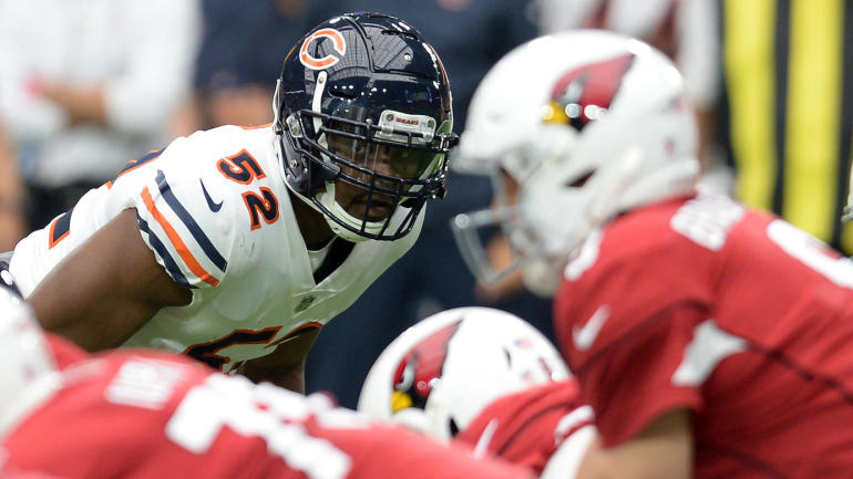 NFL games today, Week 3 scores, highlights, updates, schedule: Khalil Mack forces another fumble for Bears
