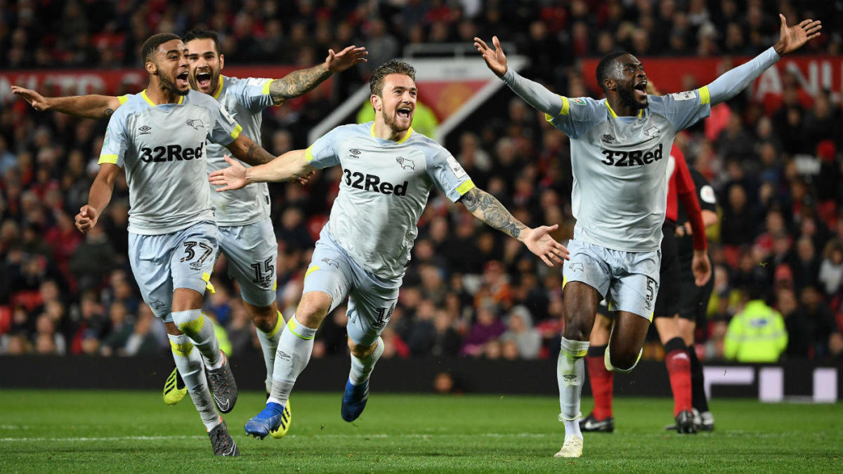 Manchester United Vs Derby County Final Score Recap Red Devils Crash Out Of League Cup In Penalty Kicks Cbssports Com