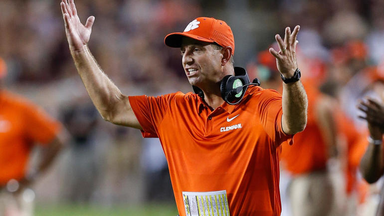 save off 3debb c0c32 Dabo Swinney  disappointed  in Clemson football program being referenced in  hoops trial