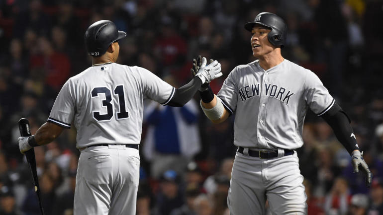 1ebad4a85e2 Yankees set new single-season MLB record with 265th home run of 2018 thanks  to Gleyber Torres - CBSSports.com