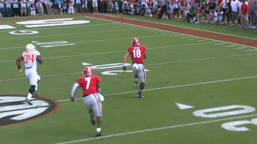 uga is committed to running the football even when it s tough to do