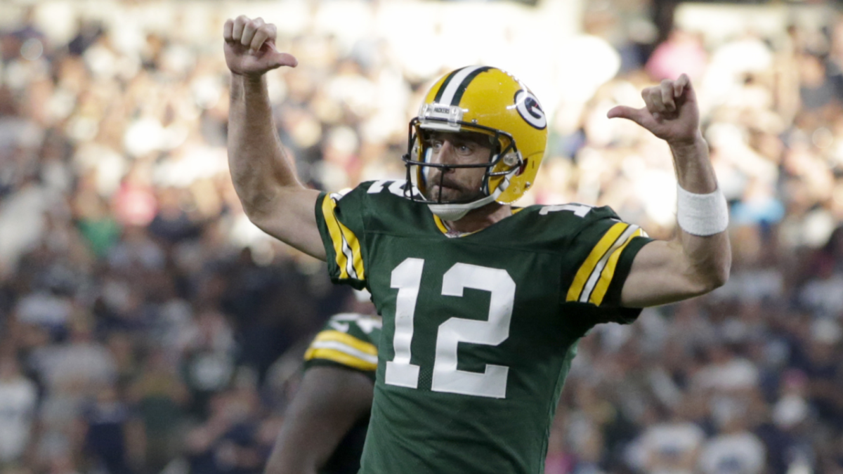 f722cbc4 NFL Week 8 early odds: Packers open as biggest underdog of Aaron ...
