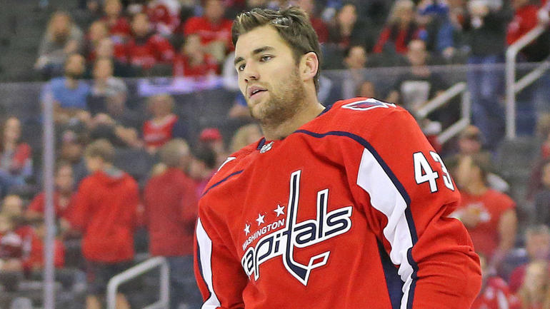 2abf7c79c NHL hits Capitals  Tom Wilson with 20-game suspension for dirty hit on  Blues  Oskar Sundqvist - CBSSports.com