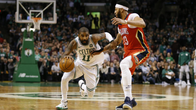Celtics' Kyrie Irving spoke with Pelicans' Anthony Davis about teaming up in Boston, per report - CBSSports.com ...