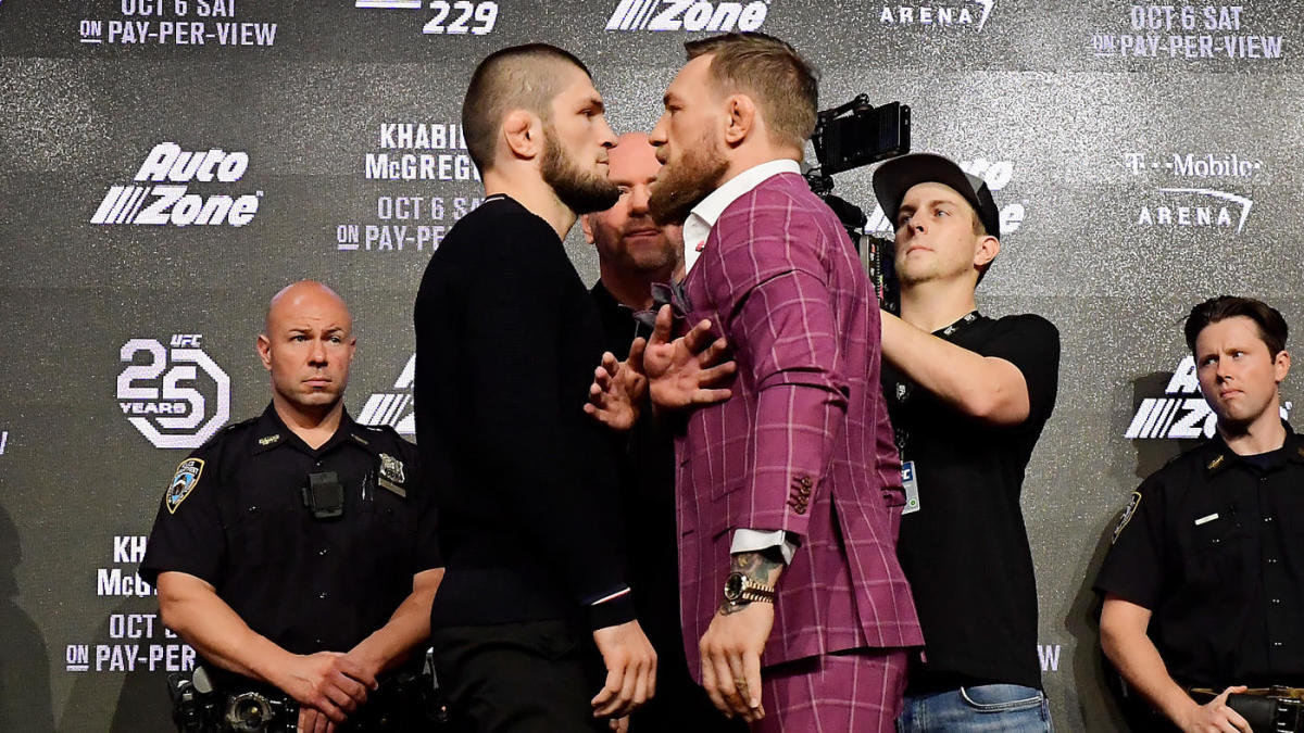 Dana White believes Conor McGregor vs. Khabib Nurmagomedov 2 should happen in 2019 - CBSSports.com