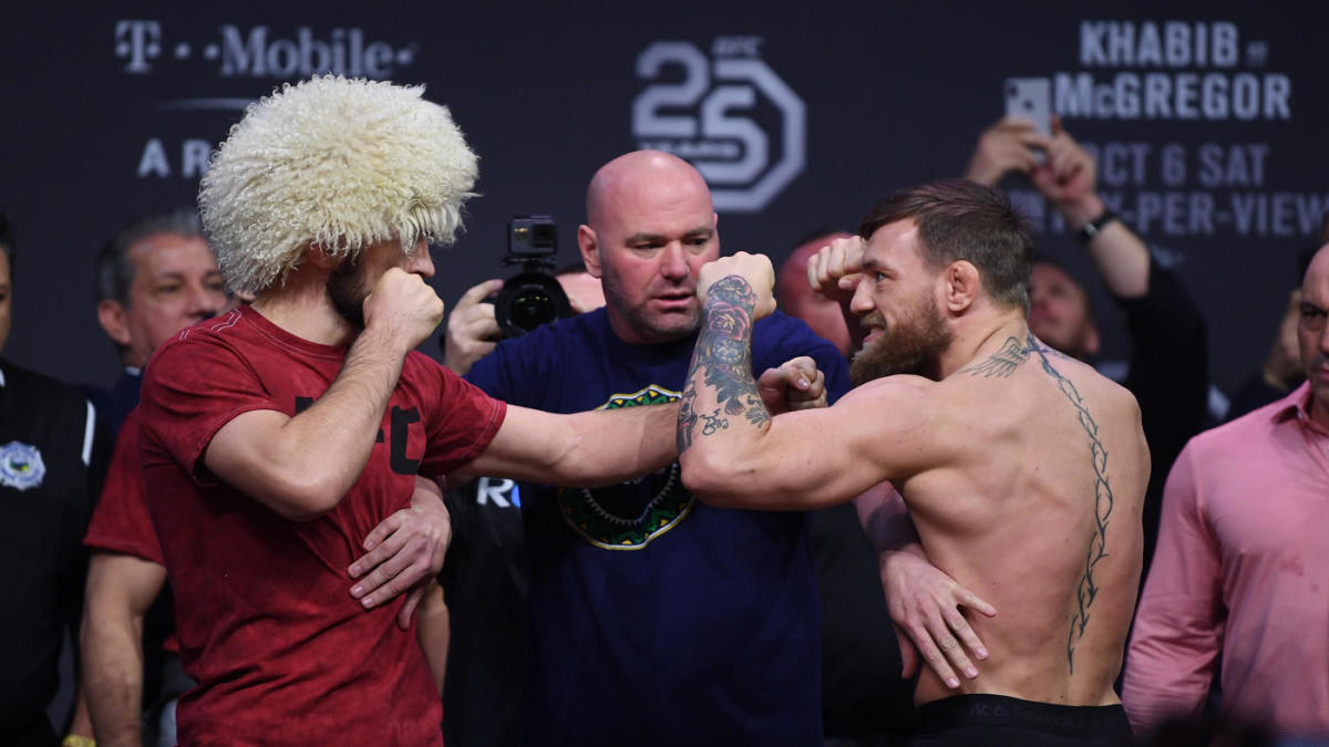 Khabib Nurmagomedov Will Not Grant Conor Mcgregor Title Rematch But Rivalry Will Never Be Finished Cbssports Com