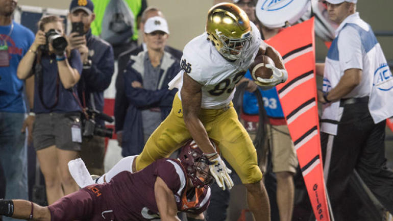 Notre Dame Vs Virginia Tech Score No 6 Irish Blast No 24 Hokies