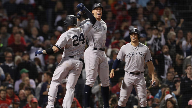 Yankees vs. Red Sox Game 2 final score: Judge, Sanchez power Yankees to win as ALDS draws even