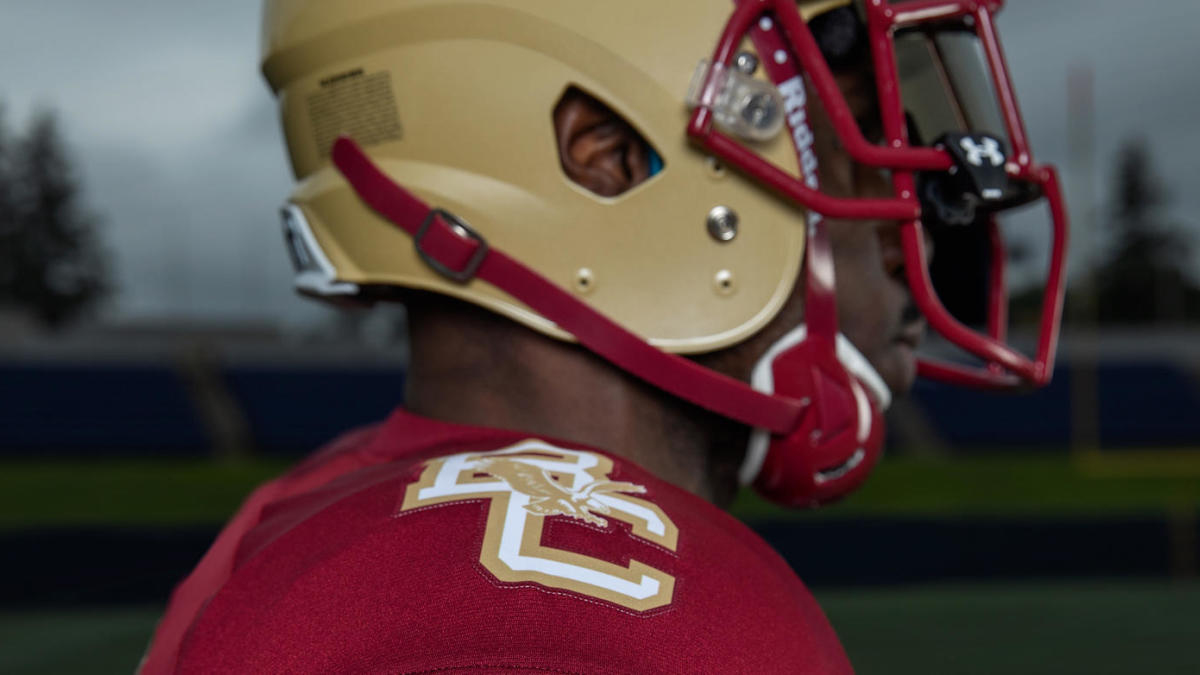 outlet store 33701 7e06d LOOK: Boston College will wear these Doug Flutie-era ...