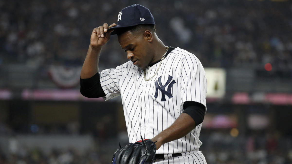 Yankees vs  Red Sox: Luis Severino, Aaron Boone dispute late