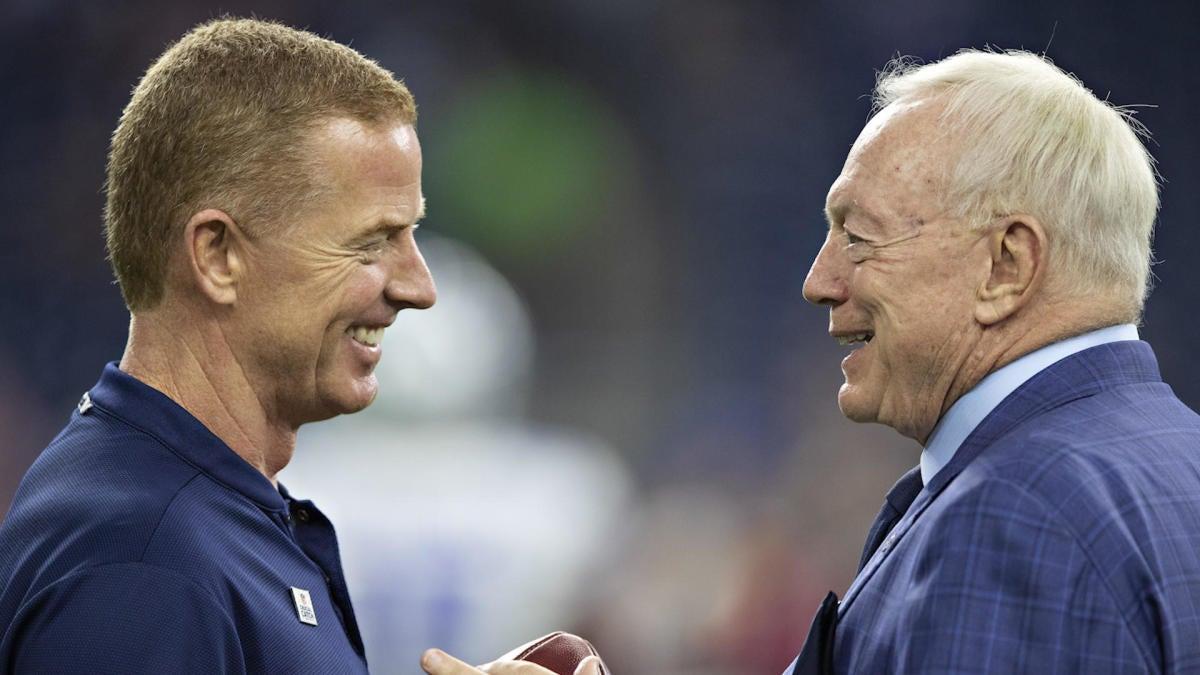 7282ce46f36 NFL Coaching Rumors: Cowboys planning 'long-term' Jason Garrett extension  amid playoff run - CBSSports.com
