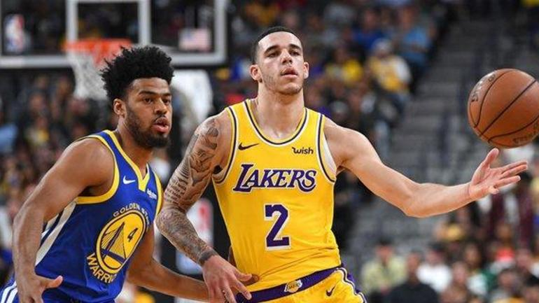 NBA forces Lonzo Ball to cover up Big Baller Brand tattoo ... 4be2f1021