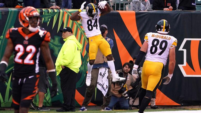 Should Antonio Brown's game-winning TD vs. Bengals been called back? The NFL wei...