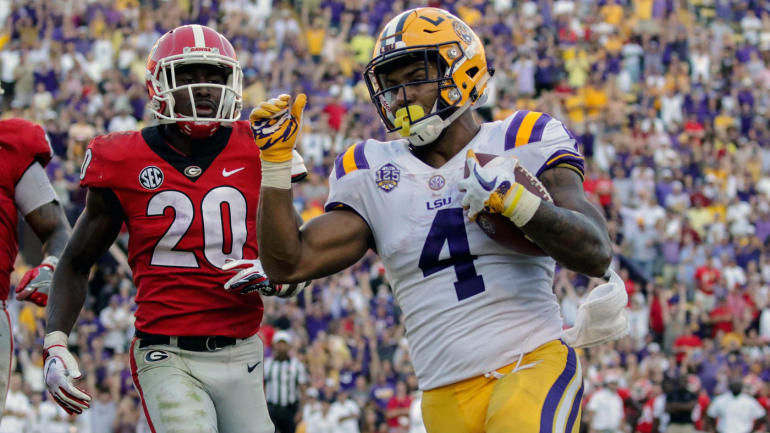 College football bowl projections: LSU solidifies New Year's Six position, West Virginia falls out
