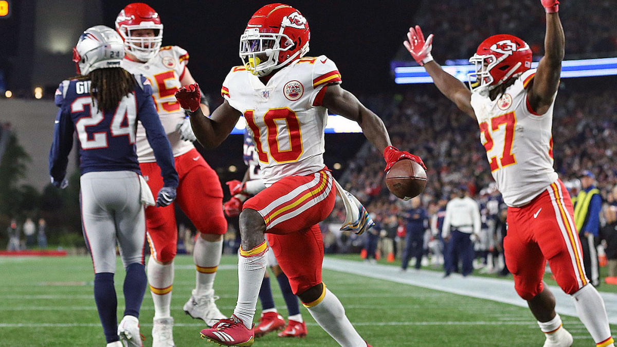 Chiefs  star receiver Tyreek Hill reportedly under investigation for alleged  battery involving juvenile 458290ff4