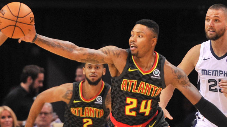 Hawks' Kent Bazemore on Trae Young, Warriors comparisons and his 'summer of enli...