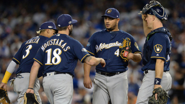 The Brewers have one of the best bullpens in baseball, but it's the rotation tha...