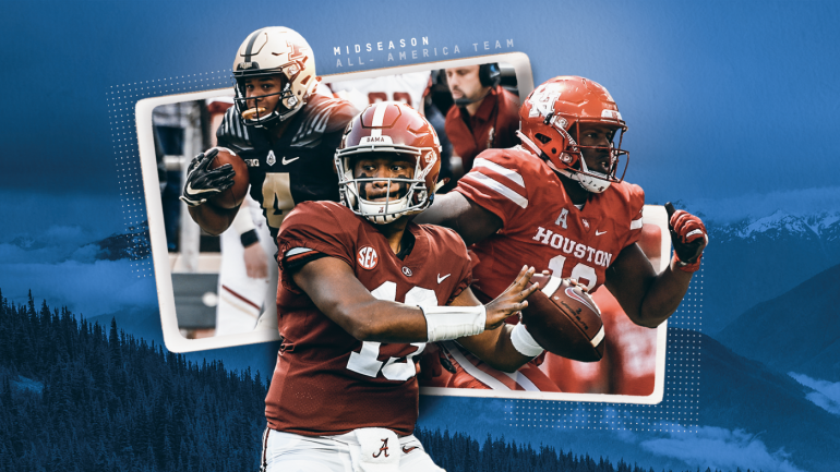 2018 CBS Sports Midseason All-America team: College football's standout players at the halfway point
