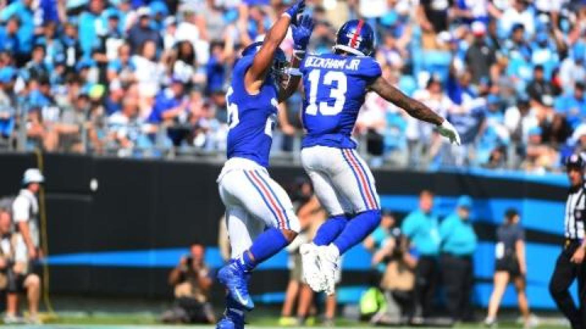 Why Saquon Barkley, not Odell Beckham is the new face of the Giants