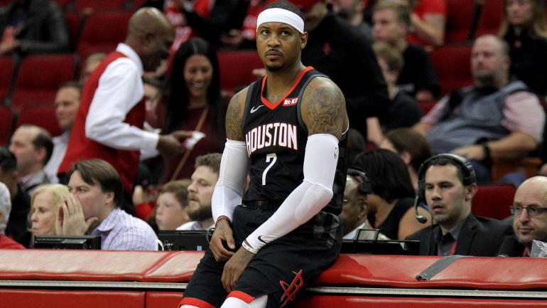 Rockets to part ways with Carmelo Anthony  GM Daryl Morey says Houston   working toward a resolution  - CBSSports.com f8edce746
