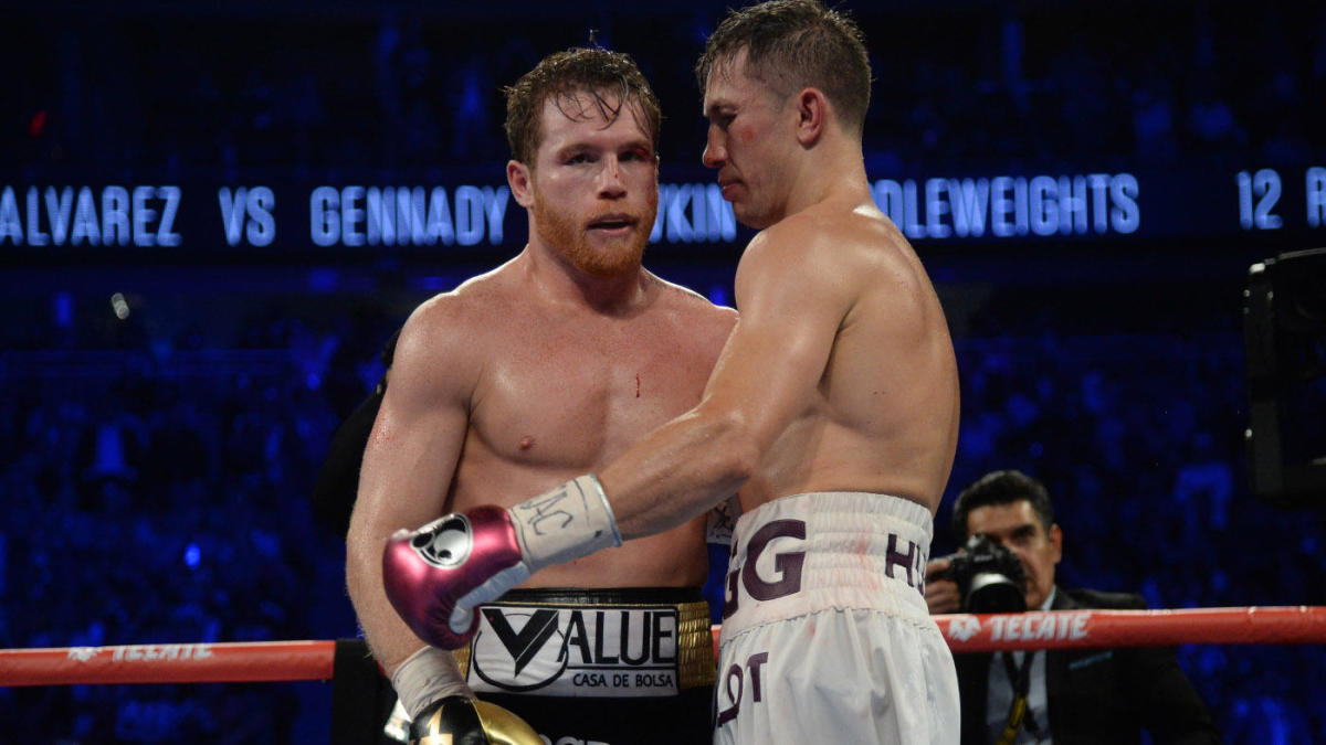 Canelo Alvarez on possible trilogy fight with Gennadiy Golovkin: 'He represents no challenge'