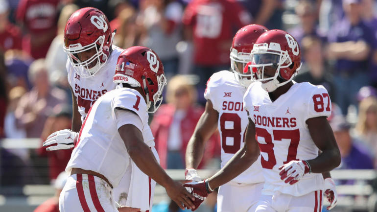 College football scores, schedule, games today: Oklahoma wins big; Clemson takes on NC State