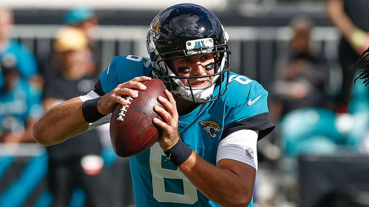 628ae37e Blake Bortles benched in Jacksonville as Jaguars hand starting QB ...