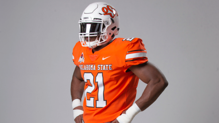 LOOK  Oklahoma State to rock 1988 Barry Sanders throwbacks for Homecoming  game against Texas - CBSSports.com c9890753b