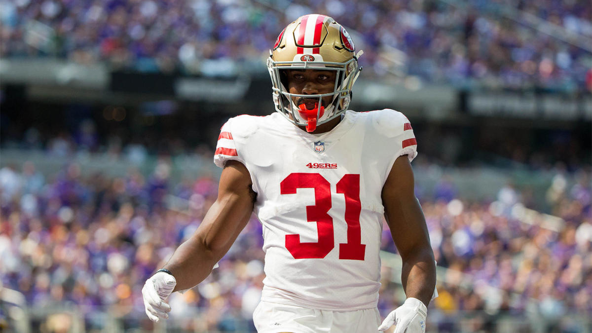 4e4d70f3 49ers' Raheem Mostert screams in agony after suffering gruesome ...