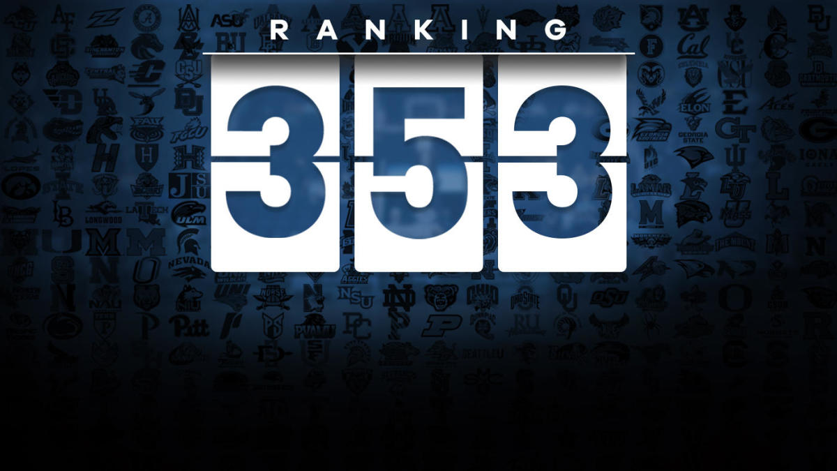 3b8798dda65 College basketball rankings 1-353: From Kansas to No. 353 and an  interesting fact on every team - CBSSports.com