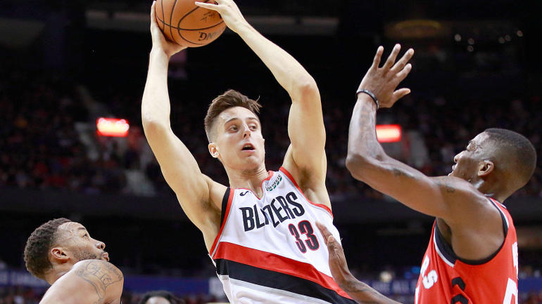 Zach Collins is the Trail Blazers' 'fearless' young piece