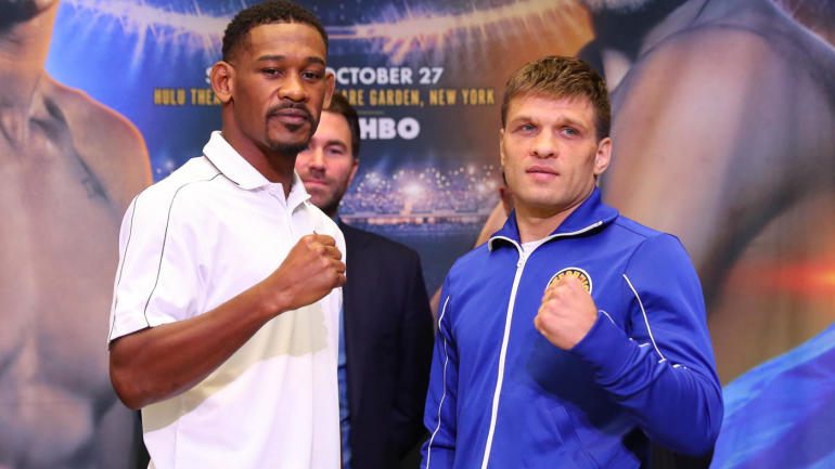 daniel jacobs vs  sergiy derevyanchenko fight  start time