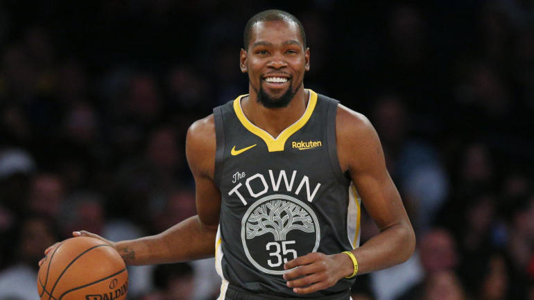 Warriors  Kevin Durant storms into MSG 653fd2c08